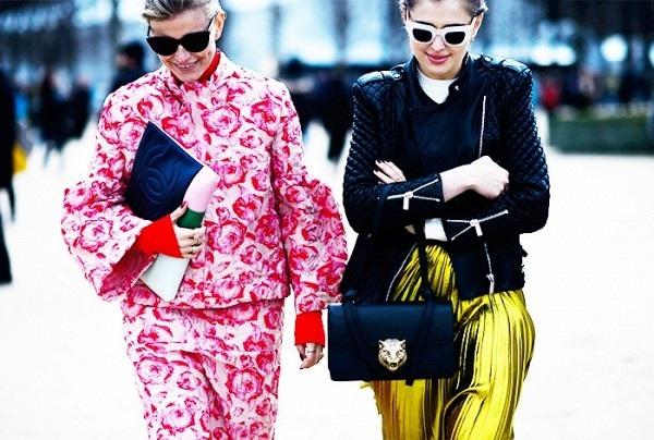 Những gam màu biến người mặc thành fashionista trên phố