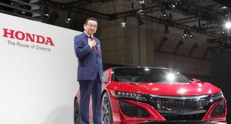 CEO Takahiro Hachigo của Honda