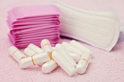 Băng vệ sinh và tampon được xét nghiệm