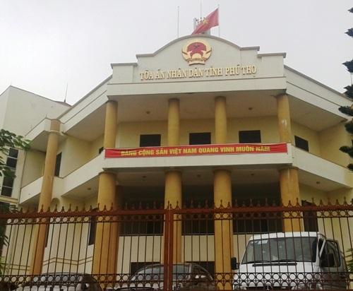TAND tỉnh Phú Thọ tiếp tục mở phiên toà xét xử vụ án.