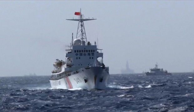 Một tàu hải cảnh Trung Quốc. (Ảnh: Getty)