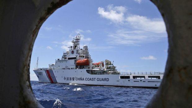 Một tàu tuần duyên của Trung Quốc. (Ảnh: Getty)