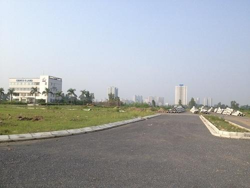 Mặc dù đã về tay chủ mới nhưng tiến độ triển khai dự án Khu đô thị Thanh Hà hiện nay vẫn khá trì trệ