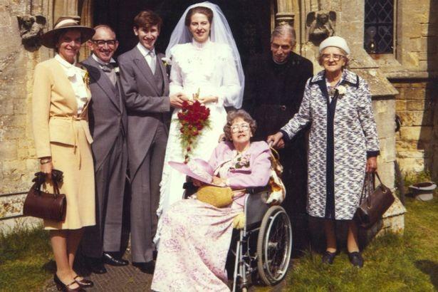 Ông bà May kết hôn năm 1980. (Ảnh: Getty)