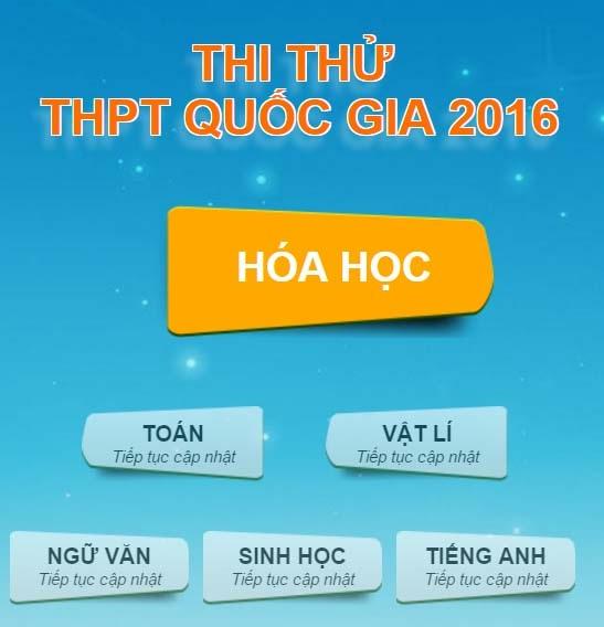 Nữ sinh Nam Định đoạt giải nhất thi thử trực tuyến môn Hóa học trên Dân trí - 1