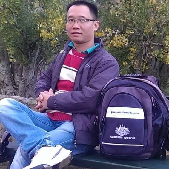 Anh Nguyễn Văn Thuận trong một dịp tham gia công tác tình nguyện tại Úc.