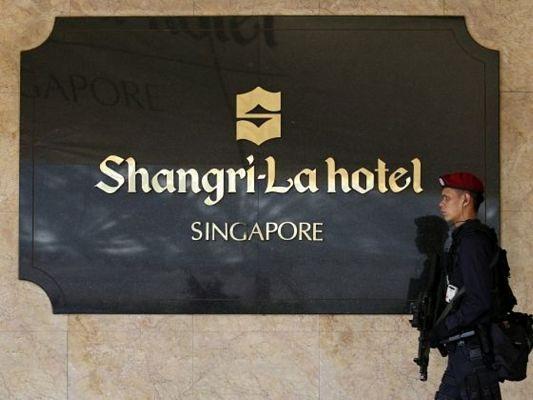 Khách sạn Shangri-La - nơi tổ chức Đối thoại Shangri-La thường niên. (Nguồn: Reuters)
