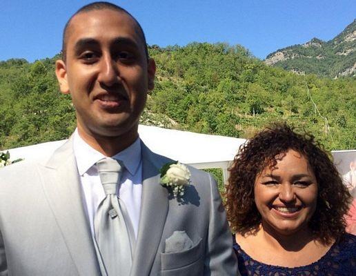 Lễ cưới cảm động nơi động đất tàn phá - 1