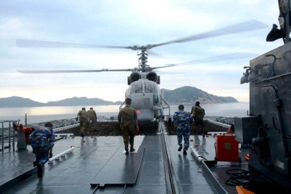 Những hình ảnh đầu tiên từ tàu Gepard 3.9 của Việt Nam vừa hạ thủy - 10