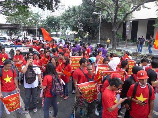 Sinh viên Việt Nam và quốc tế tại Philippines phản đối Trung Quốc quân sự hoá Biển Đông - 17