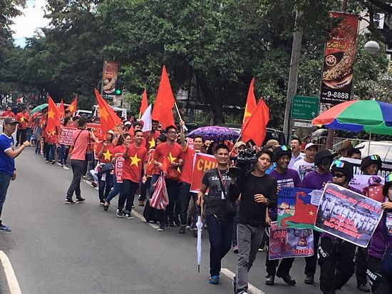 Sinh viên Việt Nam và quốc tế tại Philippines phản đối Trung Quốc quân sự hoá Biển Đông - 12