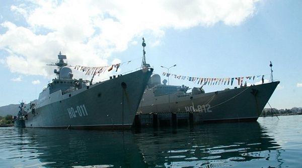 Những hình ảnh đầu tiên từ tàu Gepard 3.9 của Việt Nam vừa hạ thủy - 5