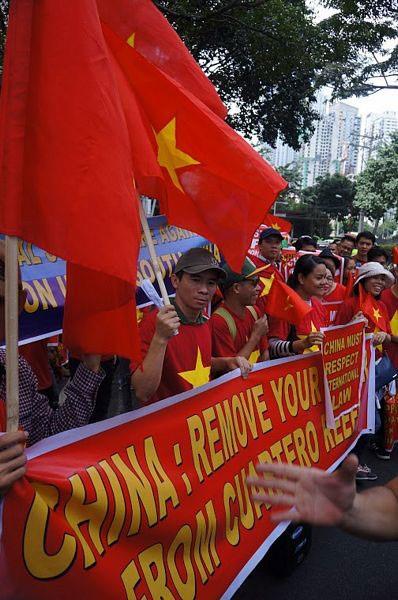 Sinh viên Việt Nam và quốc tế tại Philippines phản đối Trung Quốc quân sự hoá Biển Đông - 8