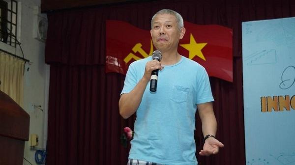 GS.TS Trương Nguyện Thành tại buổi trò chuyện về khởi nghiệp với bạn trẻ