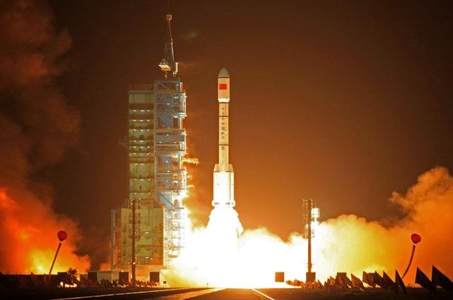 Trung Quốc phóng Thiên Cung-1 vào vũ trụ từ năm 2011. (Ảnh: PA)