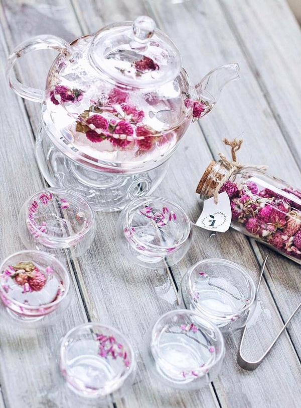 Đồng thời cô cũng mơ ước sẽ có ngày sản phẩm trà hoa Việt được cả thế giới biết đến.