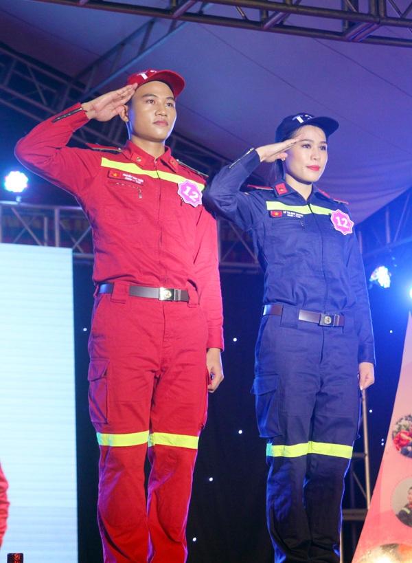 Cặp đôi giành giải Tài năng của cuộc thi Lê Thị Như Quỳnh và Nguyễn Văn Tuấn.
