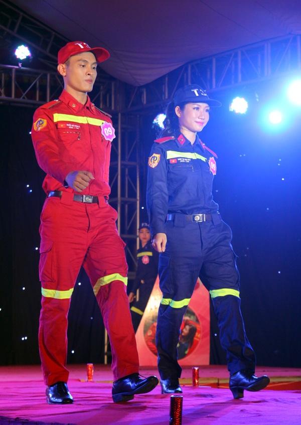 Trần Thị Kim Hoa và Nguyễn Thái Hoàng Hà đều là những sinh viên có thành tích hoạt động Đoàn đáng nể của Đại học Phòng cháy chữa cháy