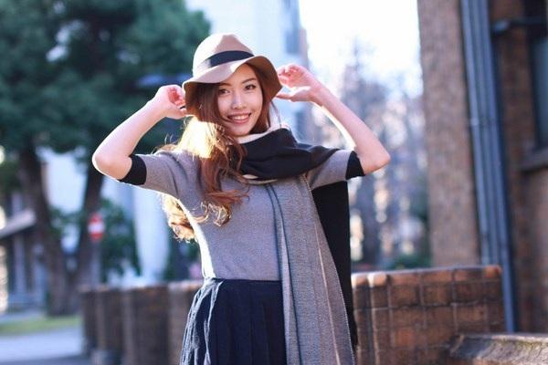 Thiếu nữ Bắc Giang cười tỏa nắng giữa mùa đông xứ hoa anh đào - 3