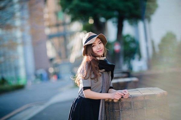 Thiếu nữ Bắc Giang cười tỏa nắng giữa mùa đông xứ hoa anh đào - 4