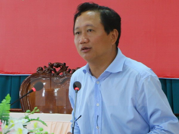 Phó Chủ tịch Ủy ban Nhân dân tỉnh Hậu Giang Trịnh Xuân Thanh. (Ảnh: Huỳnh Sử/TTXVN)
