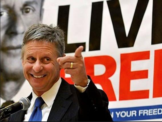Ứng viên tổng thống vừa đề cử của đảng Tự do ở Mỹ. (Ảnh: AP)