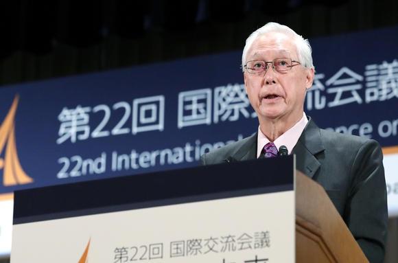 Cựu Thủ tướng Singapore Goh Chok Tong. (Ảnh: Nikkei)