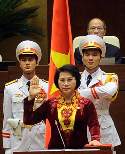 Bà Nguyễn Thị Kim Ngân trở thành nữ Chủ tịch Quốc hội đầu tiên - 9