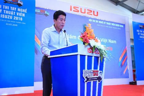 Phần khai mạc lễ sôi động cùng lời chia sẻ chân tình của TGĐ ISUZU Việt Nam như tiếp thêm nhiệt huyết cho các thí sinh bước vào tranh tài