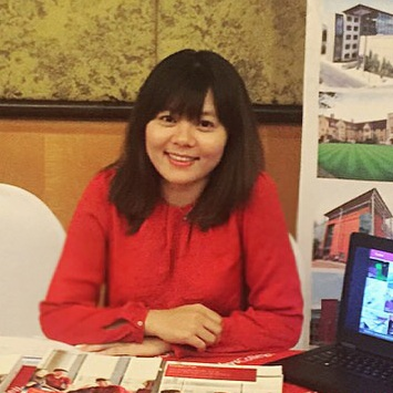 Bà Trịnh Vân Anh - Chuyên gia giáo dục trường Nội trú Bellerbys College.