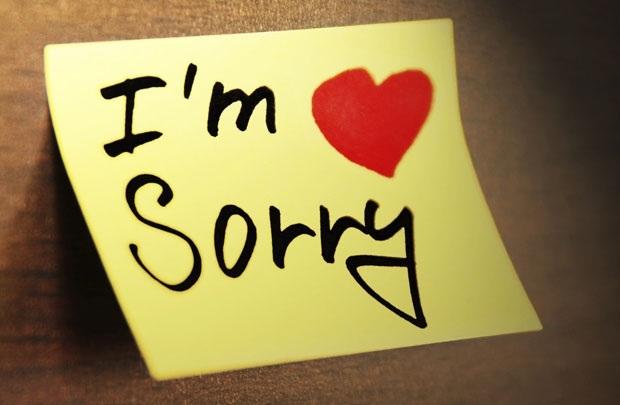Lời xin lỗi đầu năm - 1