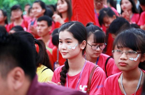 Cả ngàn bạn trẻ hăng hái tham gia ngày hội Youth Day