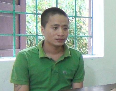 Đối tượng Vương Văn Long được xác định là kẻ cầm đầu nhóm tội phạm chuyên đập vỡ cửa kính xe ô tô để trộm các tài sản có giá trị