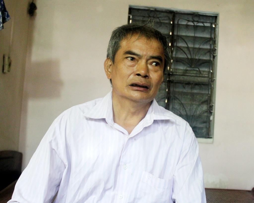 Ông Lê Lưu Tịnh - cháu ruột liệt sỹ Lê Viết Cường kể lại câu chuyện về sự hi sinh của ông nội trong Cao trào Xô Viết Nghệ Tĩnh.