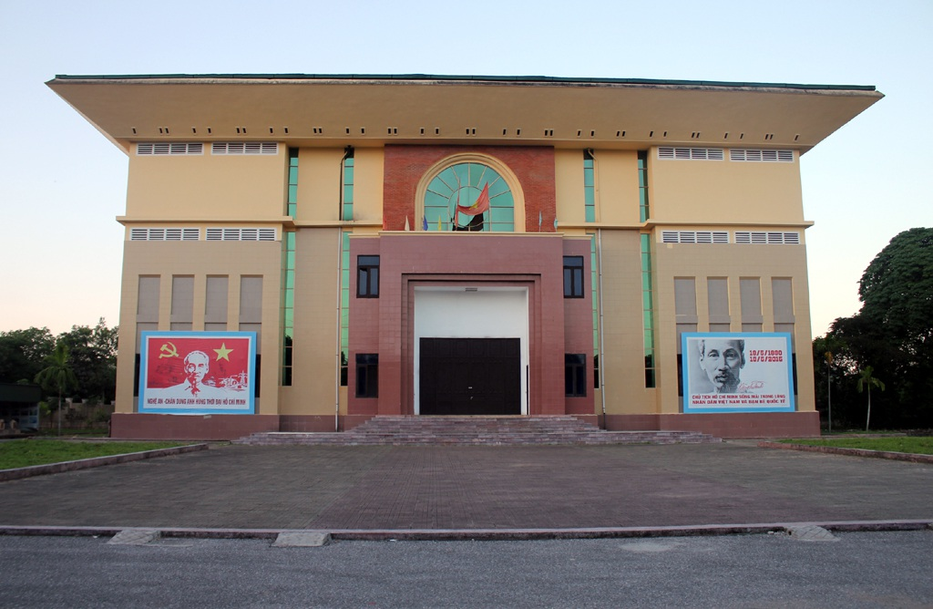 Sau 5 năm được phê duyệt Dự án trưng bày nội, ngoại thất Bảo tàng Nghệ An vẫn chưa hoàn thành.