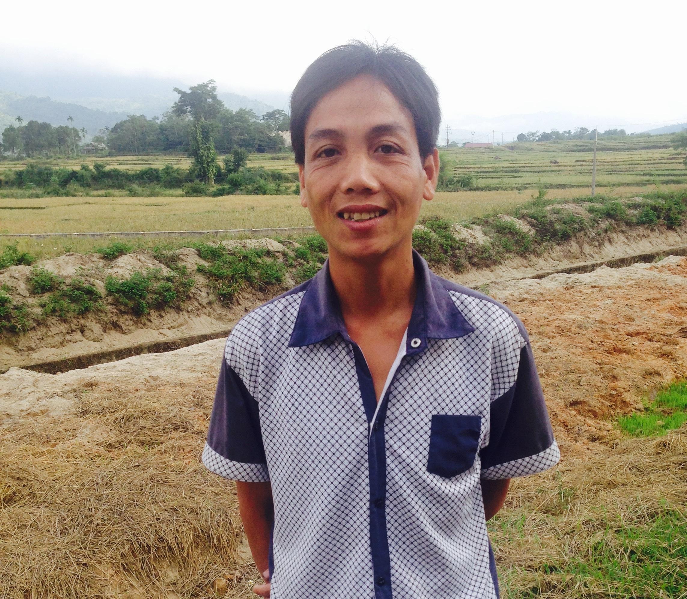 Anh Ngân Văn Un - nhân viên tiếp cận cộng đồng xã Châu Kim (Quế Phong, Nghệ An).