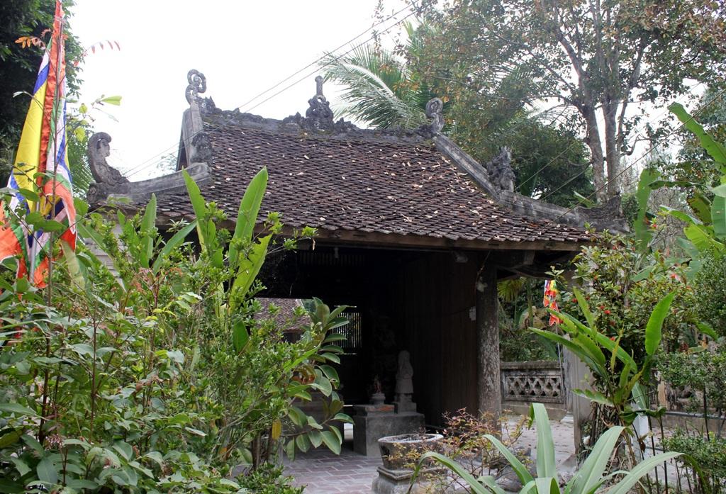 Đền Rậm được xây dựng từ nửa đầu thế kỷ XIX...