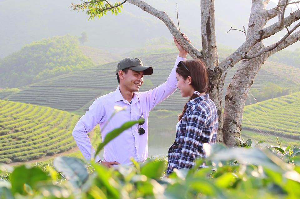 Vẻ đẹp nên thơ của đảo chè Thanh An là nơi hẹn hò lý tưởng của các cặp đôi.