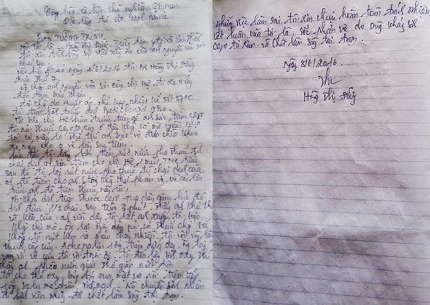 Trong khi bản tường trình của bà Đường viết tại gia đình nạn nhân Nguyễn Văn Sơn lại không thể hiện điều này. Gia đình nan nhân khẳng định không yêu cầu bác sỹ Đường tiêm thuốc kháng sinh.