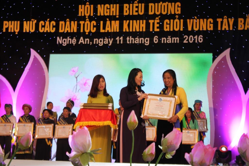 Họ là những đại diện xuất sắc nhất cho phụ nữ của hơn 30 dân tộc thiểu số vùng Tây Bắc và hai tỉnh Quảng Ninh, Hà Tĩnh.