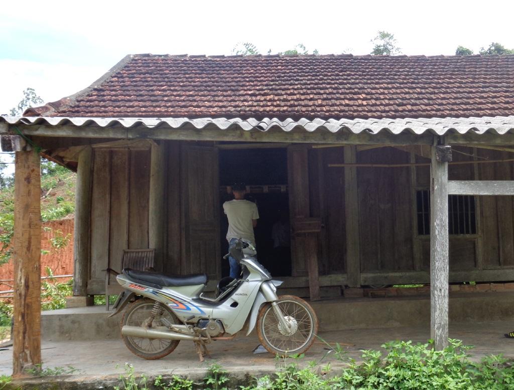 Trạm bảo vệ rừng Khe Bàn - nơi xảy ra sự việc (ảnh Lê Hoàn).