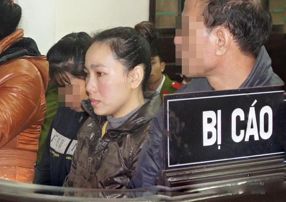 Nguyễn Hoài Thu trong phiên tòa sơ thẩm diễn ra vào năm 2013.
