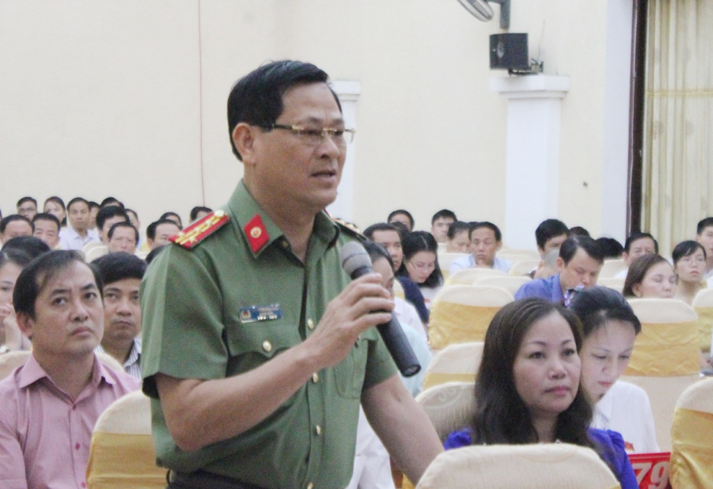 Đại tá Nguyễn Hữu Cầu - Giám đốc Công an tỉnh Nghệ An: Tình hình tội phạm gia tăng và diễn biến phức tạp.