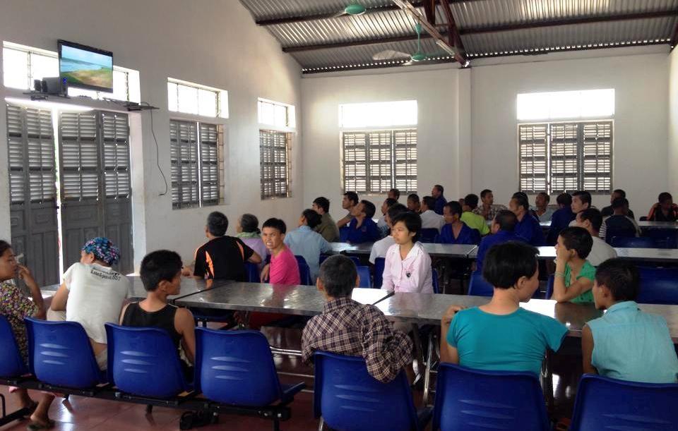 Các bệnh nhân đang được chăm sóc, nuôi dưỡng, điều trị tại Trung tâm bảo trợ xã hội tỉnh Nghệ An.