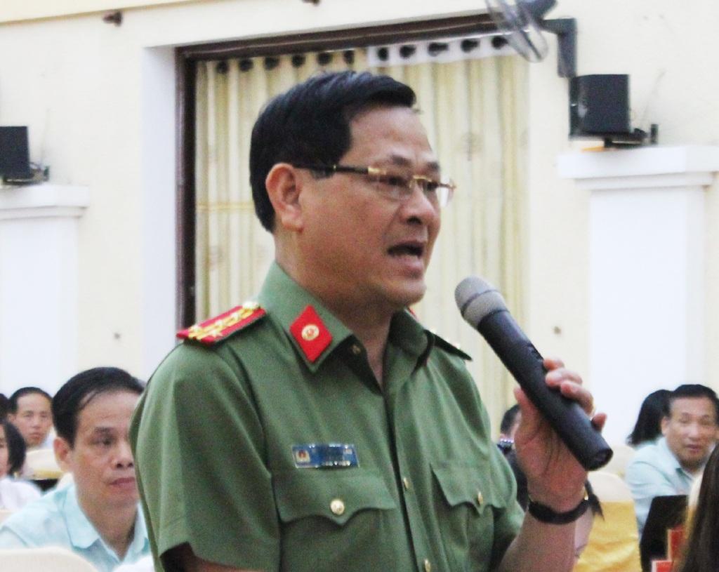 Đại tá Nguyễn Hữu Cầu - Giám đốc Công an tỉnh Nghệ An: Điều tra các vụ án liên quan đến người tâm thần, nghi tâm thần phạm tội hết sức khó khăn do vướng về luật.