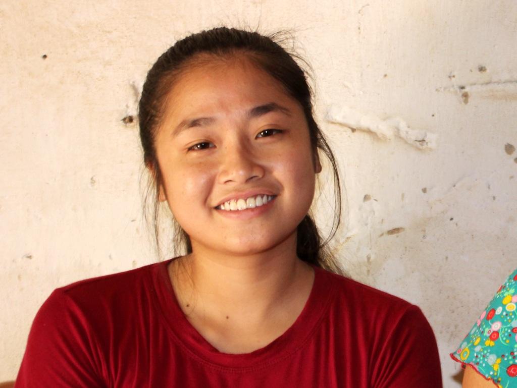 Trịnh Thị Huyền Trang lựa chọn Khoa Luật - Trường ĐH Công đoàn để học tập.