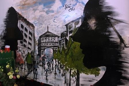 Ngắm tranh vẽ tường độc đáo của Hot girl Đại học Trà Vinh - 8