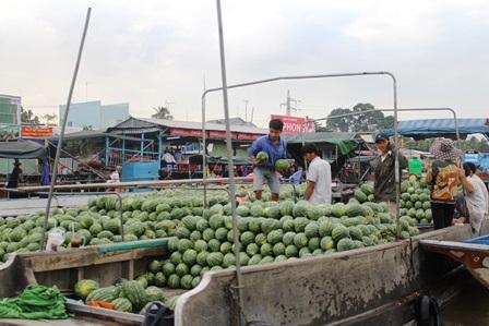 Ngắm chợ nổi Cái Răng ngày giáp Tết - 5