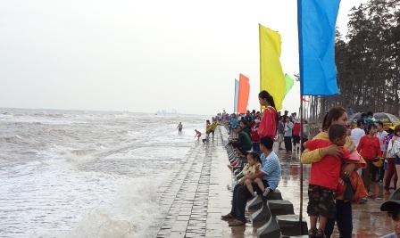 Biển Ba Động, nơi 2 nạn nhân tử vong trong mấy ngày Tết