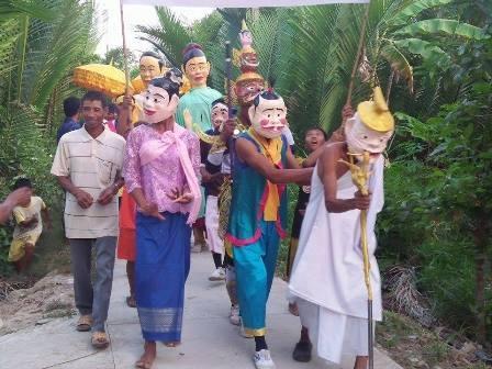 Lễ đưa ông táo về trời ngày cuối năm của đồng bào dân tộc Khmer